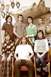 A band photo of Tartu Popi Ja Roki Instituut