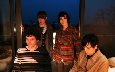 A band photo of The Projects